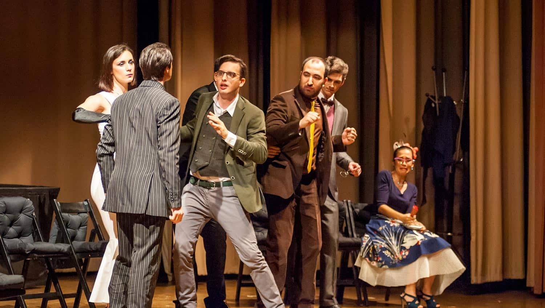 Foto dallo spettacolo Clue - Compagnia Ruzzante