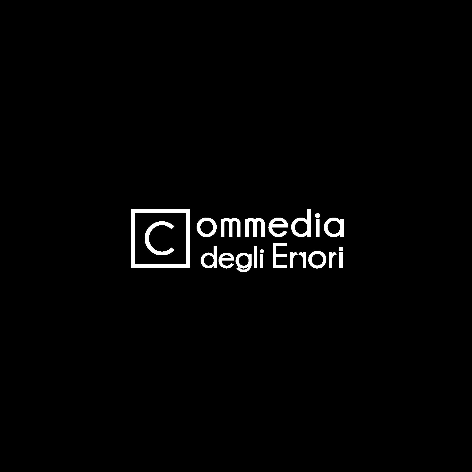 logo spettacolo Commedia degli errori