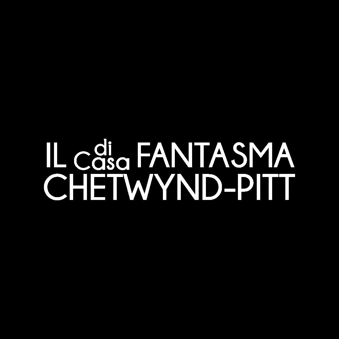logo spettacolo il fantasma di casa chetwynd-pitt